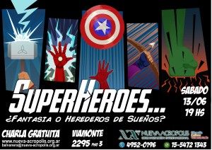 Afiche SuperHeroes Final -Color- A4